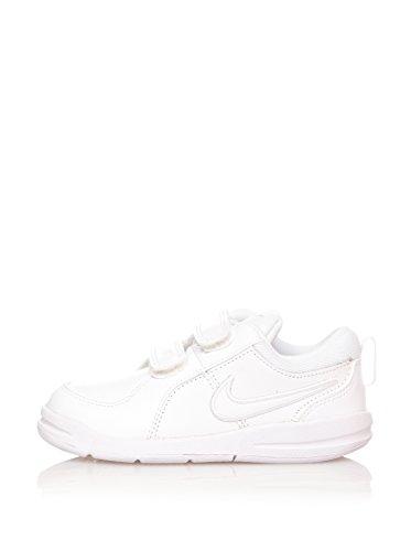 Nike Zapatillas Pico 4 (TDV) Blanco/Plata EU 23.5 (US 7)