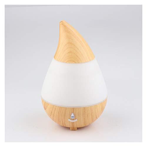 LAKYT Humidificador Drop Drop Drop USB Mini Humidificador de Aire ultrasónico Bluetooth Función de Audio Bluetooth Difusor de Aceite de la Noche Difusor de Aroma Ambientador Casa
