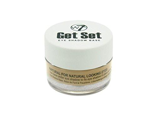 W7 Cosmetics - Lidschatten Base - Get Set - Eye Shadow Base - Natural