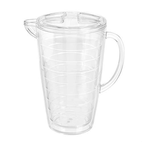 Amazon Basics 2.5-Quart Infuser Pitcher - Fruit Infusion Flavor Pitcher, BPA Free