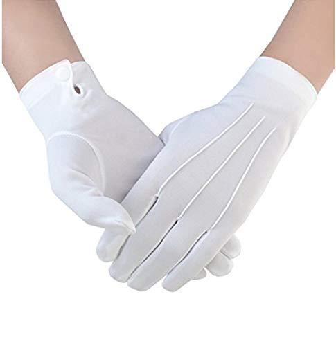 Black Butler Sebastian Handschuhe Herren Weiß Anzugshandschuhe Smoking Honor Guard Handschuhe Weiß