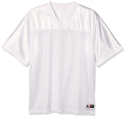 Augusta Sportswear Augusta Stadium Replica Jersey, White, Medium