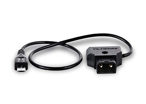 TiLTA WLC-T04-PC-PTAP Nucleus-Nano D-TAP to Micro USB Motor Power Cable for Nucleus Nano Motor Nucleus N WLC-T04