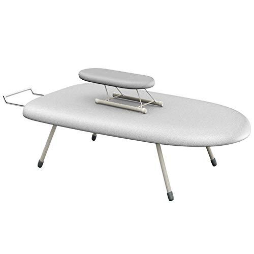 C-J-Xin Tabla de planchar de tamaño pequeño, tabla de planchar plegable y...