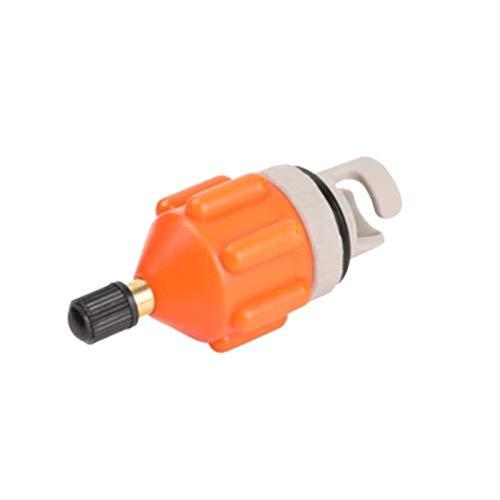 WEARRR Adaptador de válvula de Aire duraderable Remo Resistente al Desgaste de la válvula de Aire Adaptador de la válvula de Aire del Nylon Kayak Inflable Adaptador de la Bomba para el Tablero Sup