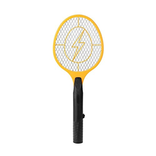 Adesign Volar Zapper Raqueta, mosquitera de mosquitera de Mosca eléctrica para campings de Viaje en Interiores y Ocasiones al Aire Libre