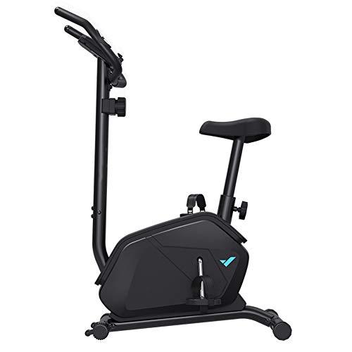 Starry Sky Fitness-fiets, spinningbike, afnemen voor oefeningen thuis, stil, beweegbaar voorwiel, verstelbare armleuningen, magneetweerstand, verstelbaar op 8 posities