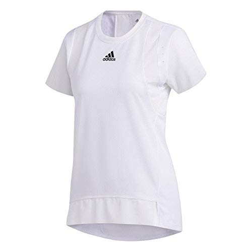 adidas TRNG tee H.RDY Camiseta, Mujer, Blanco, S
