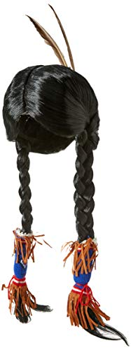 Rubie's Adult Indian Maiden Wig, Black, One Size