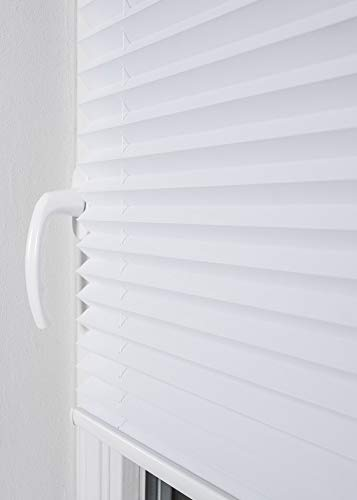 Plissee Weiß HOME-VISION - 2