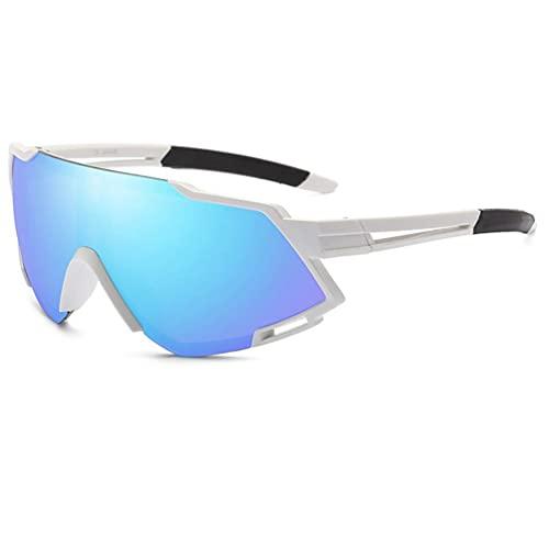 ASFD Ciclismo Gafas de sol Hombres Deportes al aire libre Polarizados Ciclismo Bicicletas Gafas