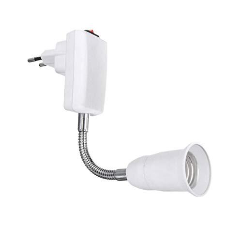 Cristoferv E27EU Bulb Conecta Al Basic Plug Adapter Converter