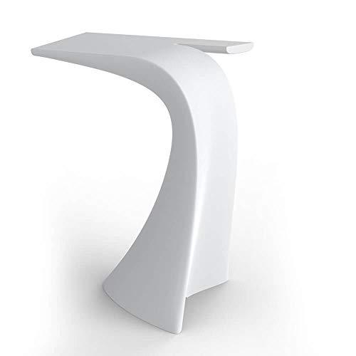 Vondom Wing table haute pour l'extérieur 100 cm blanche