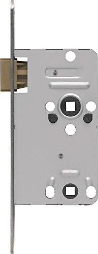 ABUS Tür-Einsteckschloss TKB10, hammerschlag-gold für DIN-links Türen, 20802