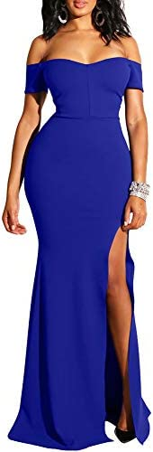 Royal blue wedding gowns _image1