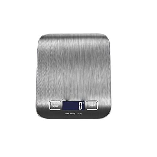 Tangrenlincfc Bilancia Cucina Escala de Cocina, con tecnología de pesaje de precisión de 0.01 g, tamaño: 18 cm * 14 cm, 1 PCS