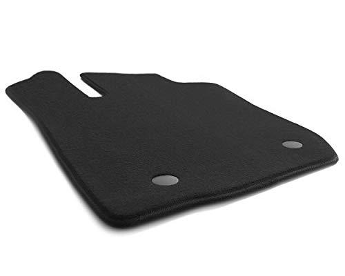 Fahrermatte Sandero II & Stepway ab 2012 Original Qualität Fußmatte Fahrerseite, Velours schwarz