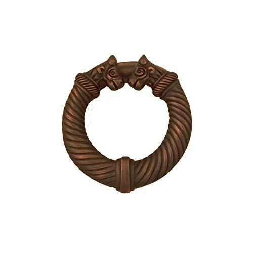 Celtic Torc Door Knocker - Oiled Bronze (Premium Size)