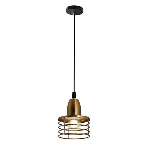 Creativo Metal Colgante de techo Moderno Comedor Lámpara decorativa E27 Lámpara colgante por Habitación Cama Corredor Escalera Isla de cocina Cafetería Iluminación interior Lámpara de techo,Oro