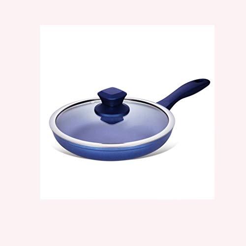XXDTG Azul Sartén - Cacerola Antiadherente, con la manija,