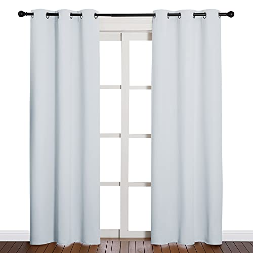 NICETOWN Easy Care Solid Thermal Insulated Grommet Room Darkening...