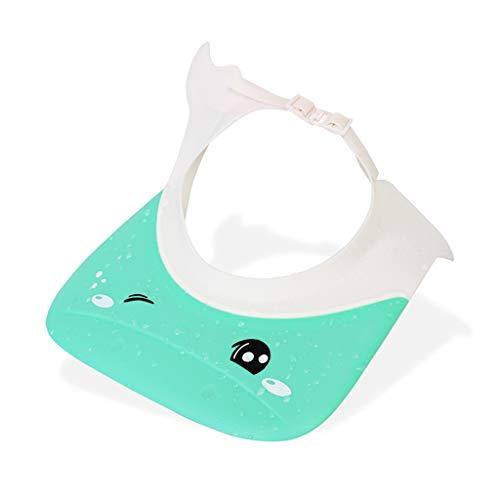 Bébé Shampooing Cap Bébé Bonnet De Douche Imperméable Oreillettes Bonnet De Bain Enfants Shampooing Enfants Capuchon Étanche (Couleur : Green)
