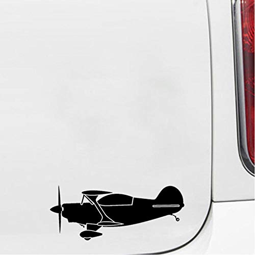 Lege grappige auto stickers 16.9cm*7cm Cartoon Unieke Stijl Ontwerp Vliegtuig Paraplu Contractiele Originele Vinyl Auto Sticker Specifieke Decal4 stks Auto stickers
