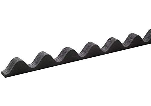 Onduline Zahnleiste 100cm Profilfüller aus Zellpolyäthylen Zahnstange First Traufe Profil 95/38