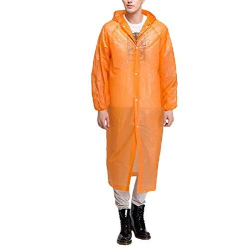 Goede Wegwerp Outdoor Unisex Opvouwbare Waterdichte Mode Draagbare Eenvoudige Glamoureuze Regenkleding Regenjas Transparant Regenjas