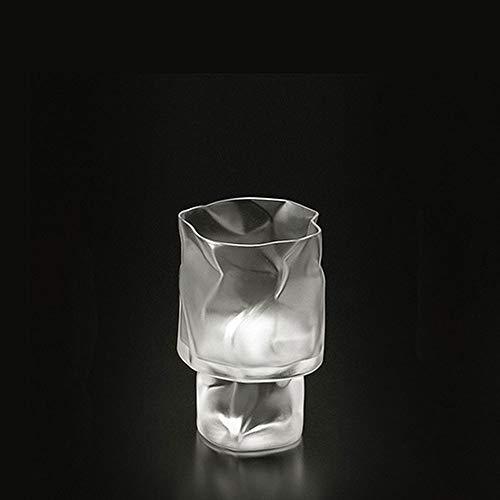 Makotokomatsu/小松誠 クランプル ワインL フロスト ワイングラス 1726