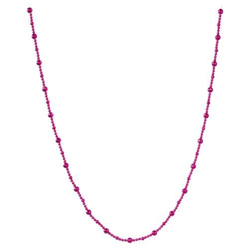 Beaded Pink Garland