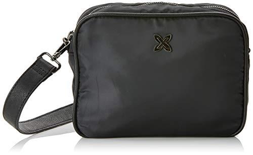 Munich Crossbody Mini Easy, Bolso Bandolera para Mujer, Negro (Black), 9x18x23 cm...