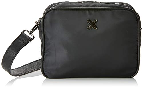 Munich Crossbody Mini Easy, Bolso Bandolera para Mujer, Negro (Black), 9x18x23 cm...