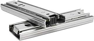 FTVOGUE 2 stuks 5 inch mini korte lade meubelgeleiding compleet uittrekbare keukenkast hardware voor kasten, kasten