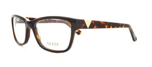 Guess Brille für Vista GU2294 S30 havana rahmenmaterial: kunststoff größe 53 mm brille für damen