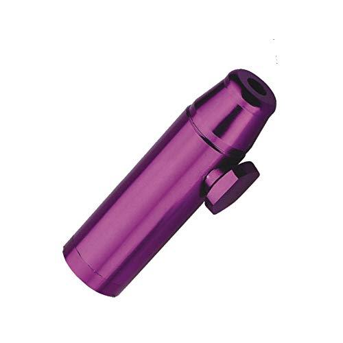 Dispensador Dispensador Botella de Sniff rapé Sniffer dispensador dispensador de metal color