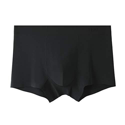 langchao High-End Unterwäsche Herren Graphene Feuchtigkeitsaufnahme Männer Boxershorts Gr. XXL, jet black