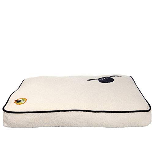 Trixie Perros Cojín de Oveja Shaun Cama para Perros Camilla Espacio Soft Peluche, 100 × 70 cm (36872)