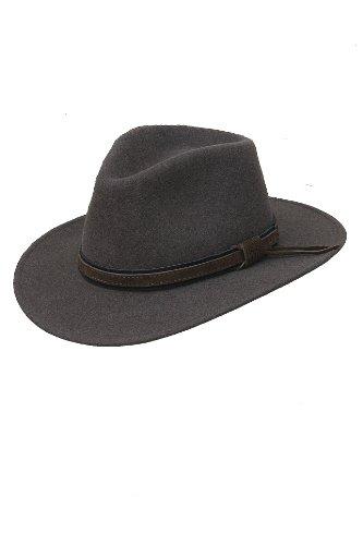 Scippis austin chapeau marron mélangé taille xL