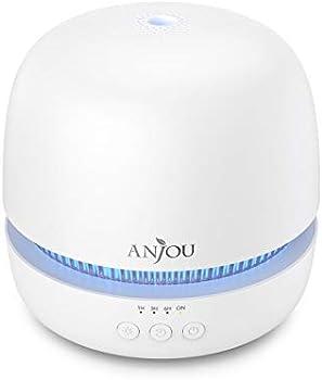 Anjou 300mL Ultrasonic Aromatherapy Essential Oil Diffuser
