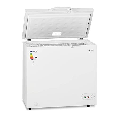 Royal Catering Arcón Congelador Cámara Profesional RCFZ-197-1 (Capacidad: 197 L, Clase energética: A +, Temperatura de -12 a -28 °C)