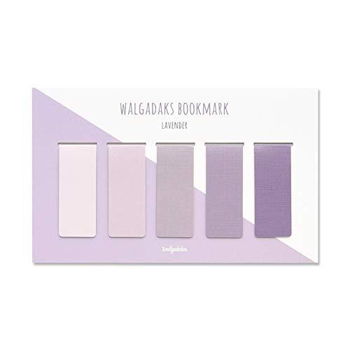 Monolike Magnetic Bookmarks Lavender, Set of 5