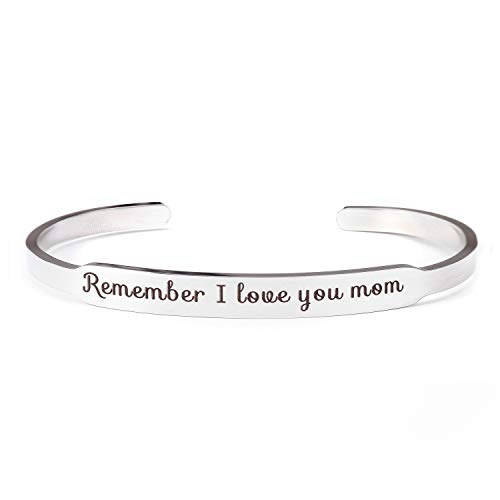 Recuerda Que te Amo mamá Brazalete Brazalete Pulseras mamá Regalo de Hija Hijo...