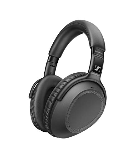 Sennheiser PXC 550-II Wireless Cuffia Ripiegabile con Cancellazione del Rumore, Bluetooth 5.0, Smart Pause e Alexa - Nero, con Alexa integrata