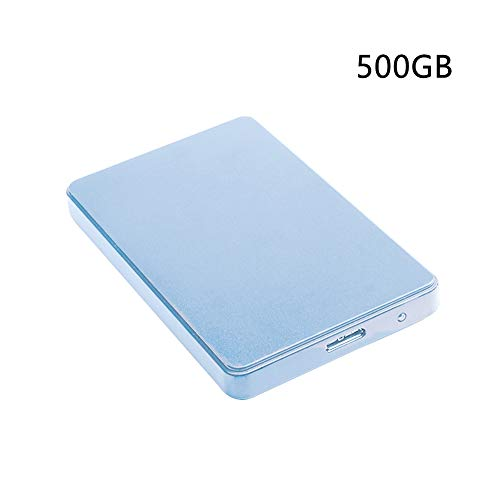 AOUTLE 2.5 Inch 500GB/1TB/2TB External Hard Drive, USB3.0 SATA3.0 HDD Storage, Office Computer Accessories Compatible for PC, Desktop, Laptop