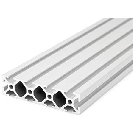 Standardl/ängen 1500mm Aluminiumprofil 20x20 I-Typ Nut 5 4,80 EUR//m