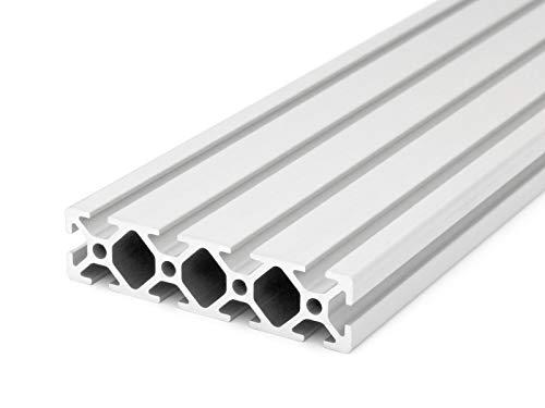 Aluminiumprofil 20x80 I-Typ Nut 5 - Standardlängen (17,00 EUR/m, min. 2,50 EUR) 1000mm