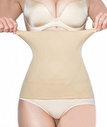 SURE YOU LIKE Damen Taille Trainer Cincher Korsett Tailenmieder Body Shape Bauchweg Gürtel, Beige, Tag XXXL=Size EU(42-46)