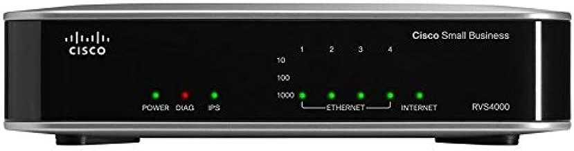 Cisco RVS4000 4-Port Gigabit Security Router - VPN