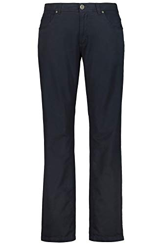 JP 1880 Herren große Größen bis 66, 5-Pocket Hose, elastischer Innenbund, Regular Fit, Reine Baumwolle Navy 62 717157 76-62